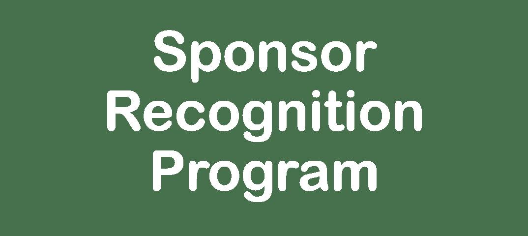 Sponsor Recognition Program